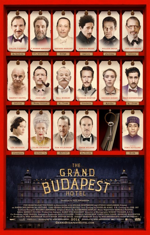 The Grand Budapest Hotel: nuovo poster