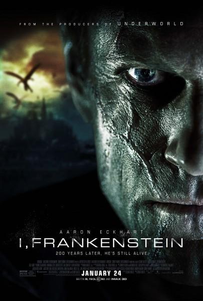 I, Frankenstein -  La nuova locandina