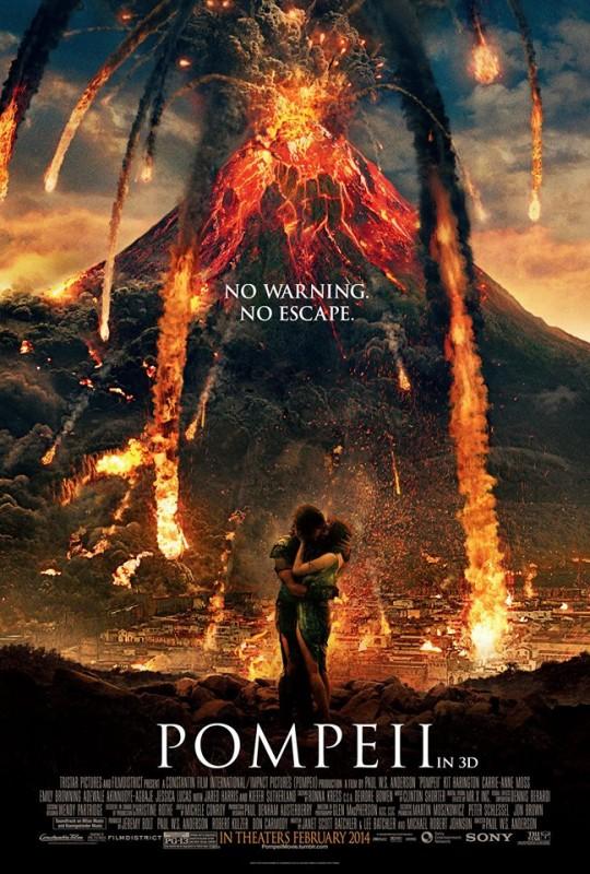 Pompeii: la prima locandina