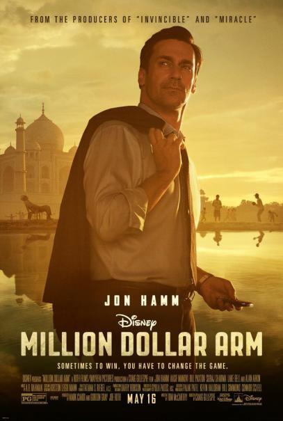 Million Dollar Arm: la locandina del film