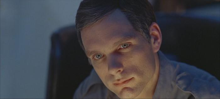Keir Dullea in una sequenza di 2001: Odissea nello spazio (1968)