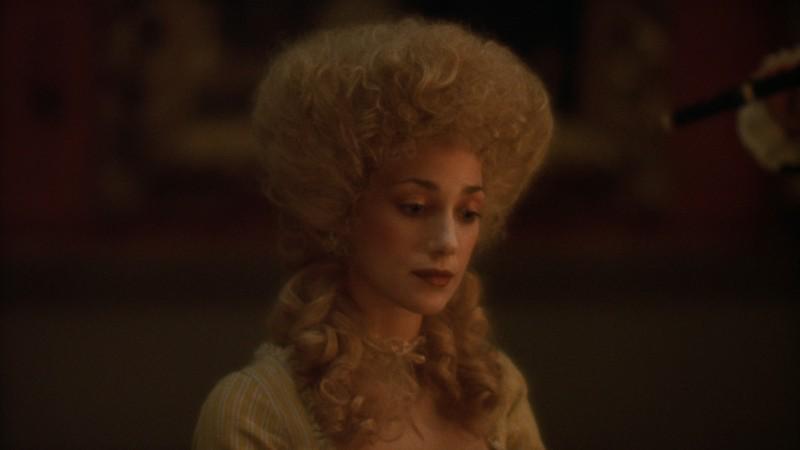 Marisa Berenson in una scena di Barry Lyndon (1975)