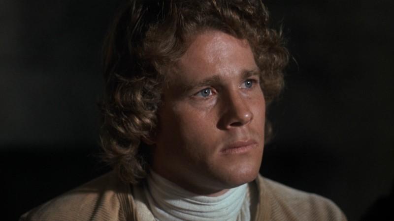 Ryan O'Neal in una scena di Barry Lyndon (1975)