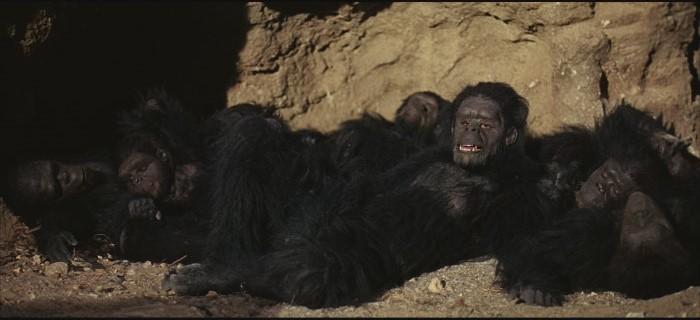 Una sequenza di 2001: Odissea nello spazio (1968) di Stanley Kubrick
