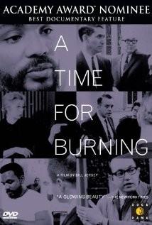 A Time for Burning: la locandina del film