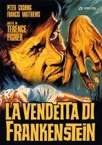 La copertina di La vendetta di Frankenstein (dvd)