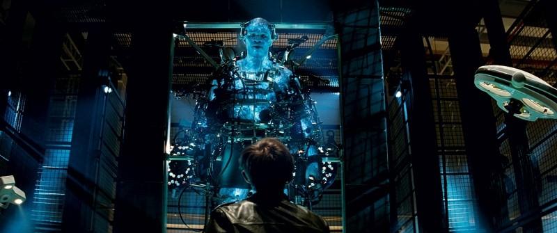 The Amazing Spider-Man 2: un'immagine di Dane DeHaan davanti al terrificante Jamie Foxx/Electro