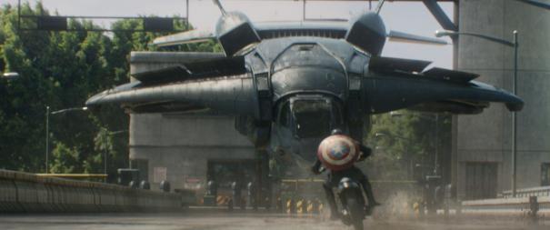 Captain America: The Winter Soldier: un inseguimento mozzafiato