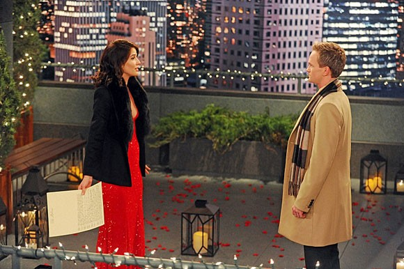 How I Met Your Mother: Cobie Smulders e Neil Patrick Harris nell'episodio The Final Page