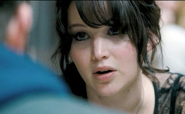 Jennifer Lawrence in una scena di The Silver Linings Playbook