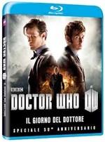 La copertina di Doctor Who - Il giorno del Dottore - Speciale 50° Anniversario (blu-ray)