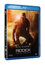 La copertina di Riddick (blu-ray)