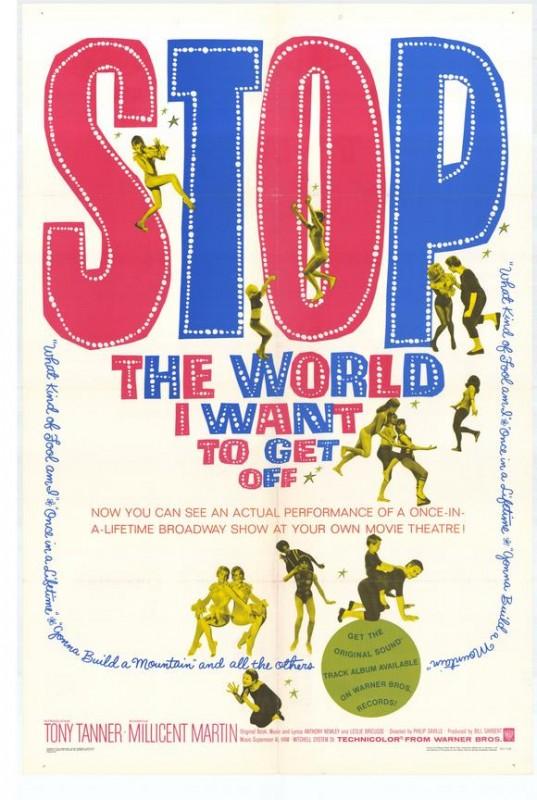 Stop the World: I Want to Get Off: la locandina del film
