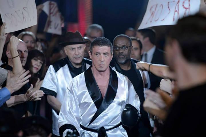 Il Grande Match: Alan Arkin accompagna Sylvester Stallone sul ring in una scena