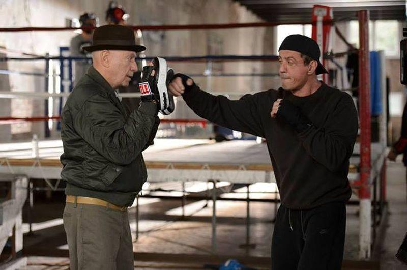 Il Grande Match: Alan Arkin e Sylvester Stallone in una scena