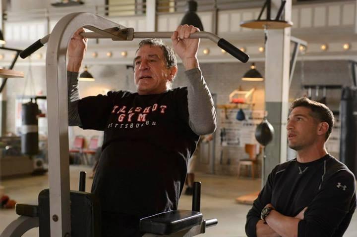 Il Grande Match: Robert De Niro con Jon Bernthal in palestra
