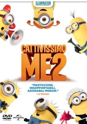 La copertina di Cattivissimo me 2 (dvd)