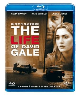 La copertina di The life of David Gale (blu-ray)
