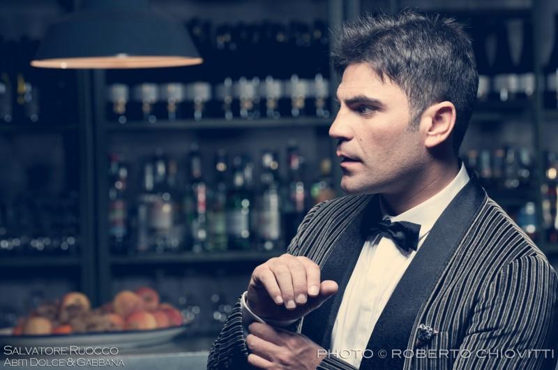 Salvatore Ruocco per Vanity Fair in Dolce & Gabbana