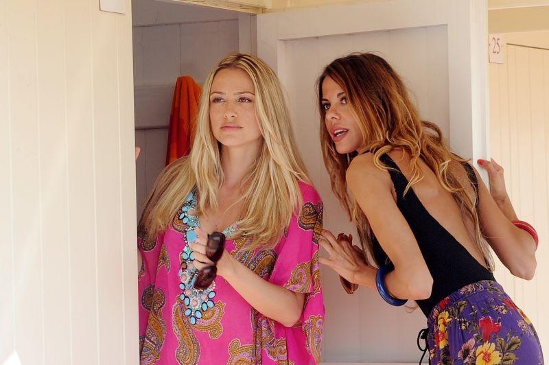 Sapore di te: Martina Stella e Virginie Marsan in una scena del film