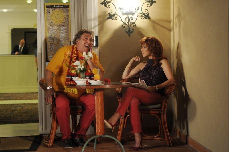 Sapore di te: Maurizio Mattioli in una scena del film con la 'moglie' Nancy Brilli