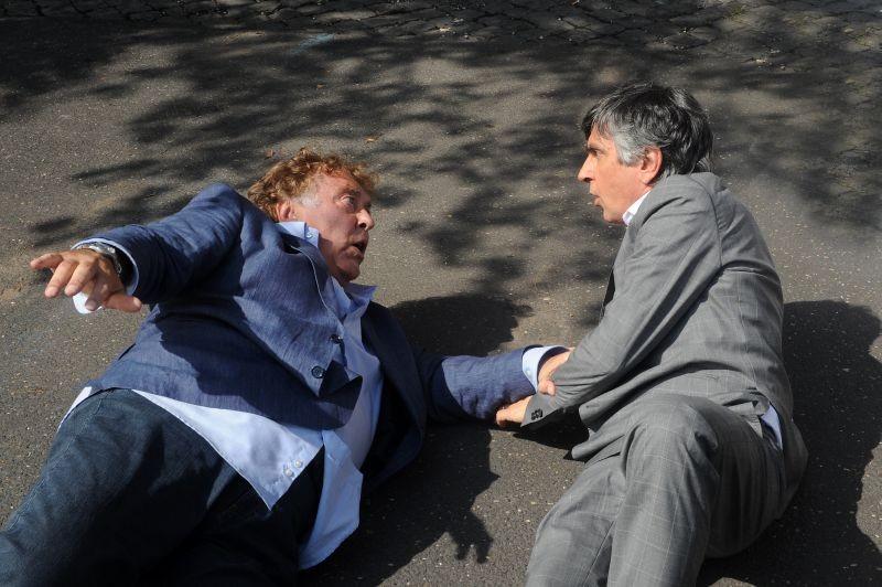 Sapore di te: Maurizio Mattioli sull'asfalto insieme a Vincenzo Salemme