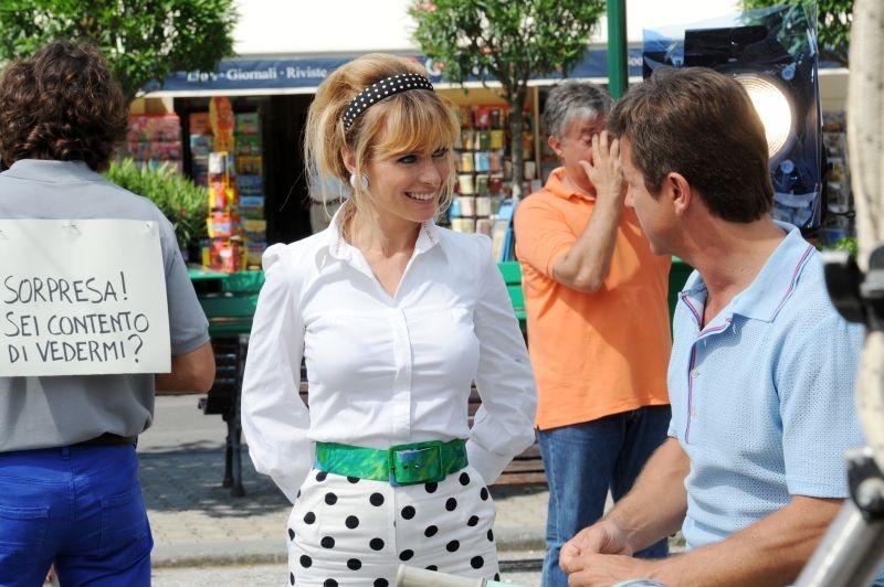 Sapore di te: Serena Autieri con Paolo Conticini in una scena del film