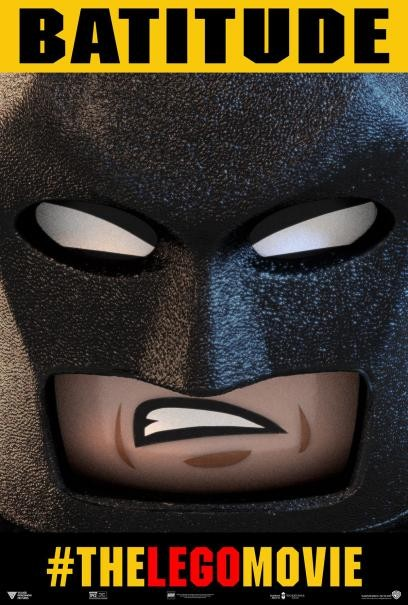 The Lego Movie: aggressivo character poster di Batman
