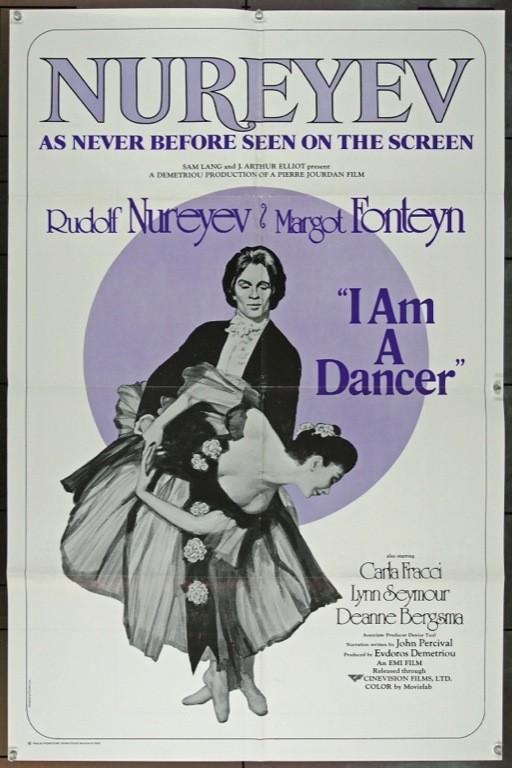 I am a dancer: la locandina del film