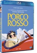 La copertina di Porco Rosso (blu-ray)