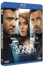 La copertina di Runner Runner (blu-ray)