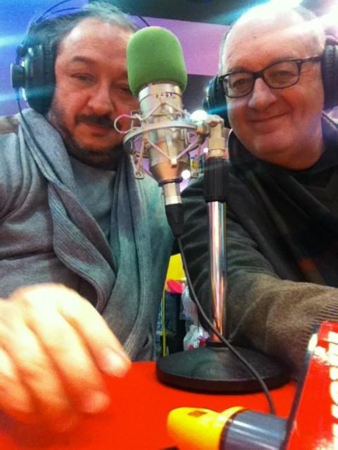 Orfeo Orlando e Carlo Orzeszko in onda su Radio International Bologna
