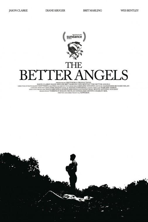 The Better Angels: la locandina del film