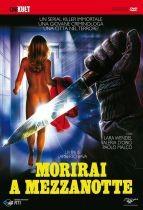 La copertina di Morirai a mezzanotte (dvd)