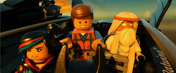 The Lego Movie: Emmett, Vitruvius e Uni-Kitty in viaggio