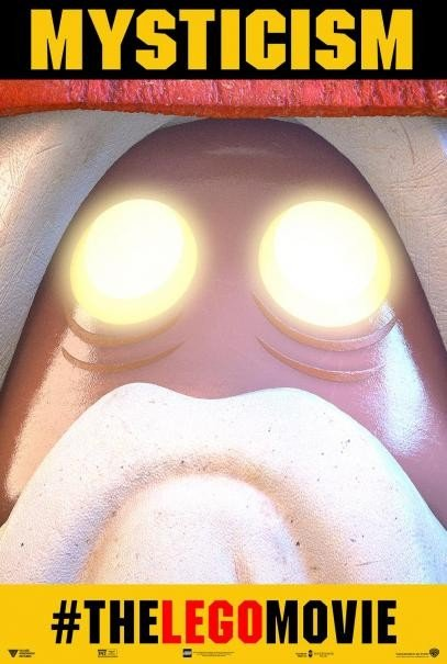 The Lego Movie: il nuovo character poster di Vitruvius