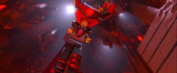 The Lego Movie: una movimentata scena del film