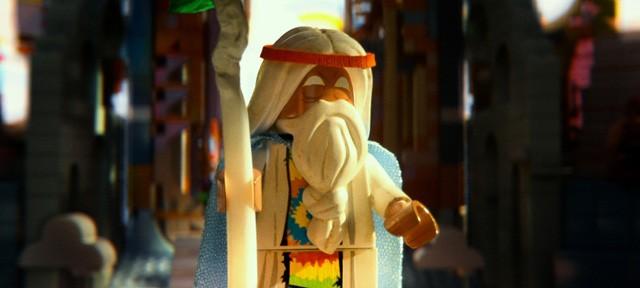 The Lego Movie: Vitruvius in una scena del film