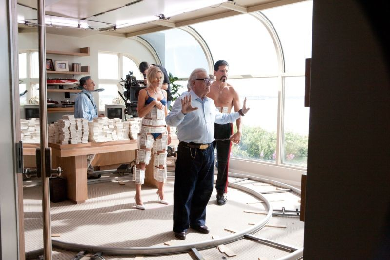 The Wolf of Wall Street: Martin Scorsese sul set del film