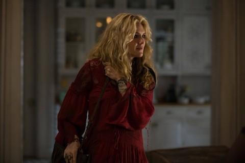Lily Rabe in una scena di American Horror Story, Coven