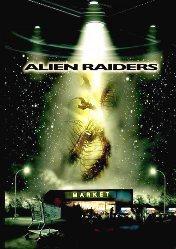 Alien Raiders: la locandina del film