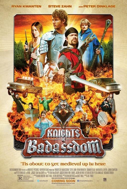 Knights of Badassdom: la locandina del film
