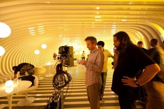 Her: il regista Spike Jonze sul set