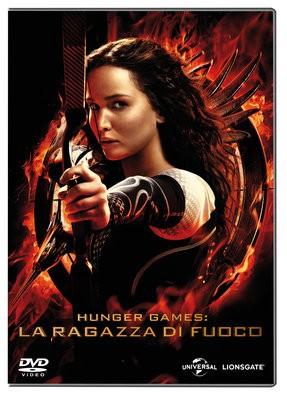 La copertina di Hunger Games: la ragazza di fuoco (dvd)