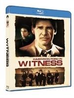 La copertina di Witness - Il testimone (blu-ray)