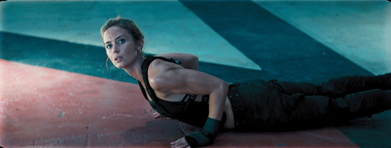Edge of Tomorrow - Senza domani: Emily Blunt in allenamento