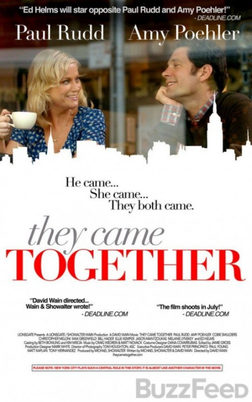 They Came Together: la locandina del film