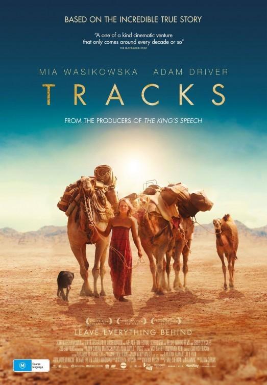 Tracks: la locandina australiana del film