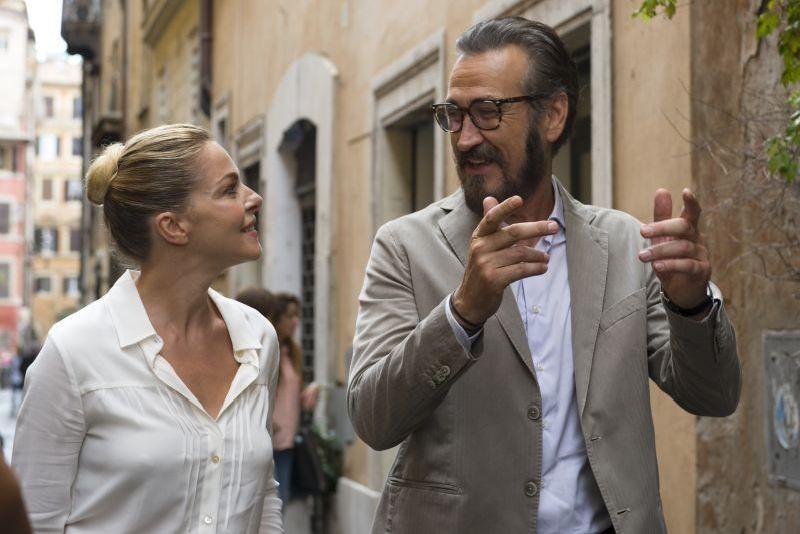 Tutta colpa di Freud: Claudia Gerini e Marco Giallini in una scena