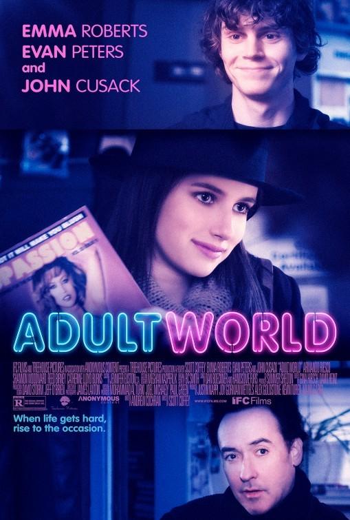 Adult World: la locandina del film